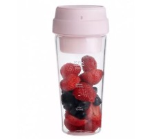 Блендер Xiaomi 17PIN Star Fruit Cup 400ml розовый